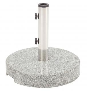 Max Green Granite Parasol Base, 25kg