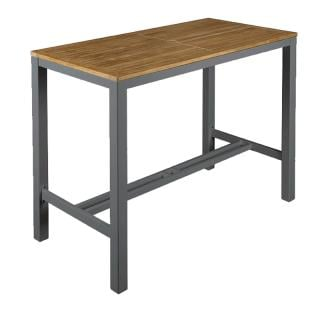 Barlow Tyrie Aura High Dining Table in Graphite