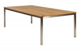 Barlow Tyrie Equinox 220cm Rectangular Dining Table with Teak Top