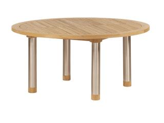 Barlow Tyrie Equinox 150cm Dining Table with Teak Top