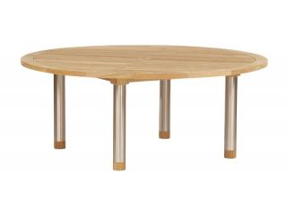Barlow Tyrie Equinox 180cm Dining Table with Teak Top