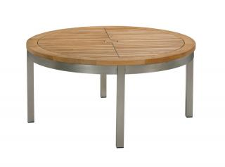 Barlow Tyrie Equinox 100cm Conversational Table with Teak Top