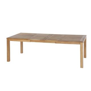 Barlow Tyrie Linear 230cm Teak Extending Dining Table