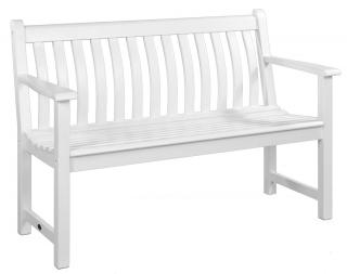Alexander Rose Code 334W. An eye-catching white painted bench.