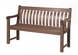 Alexander Rose Code 345S. A painted bench ideal for the corner of the garden or patio.