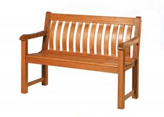 Alexander Rose Code 346B. A bench ideal for the corner of the garden or patio.