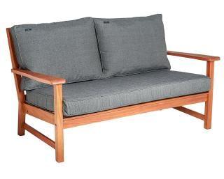 Alexander Rose Code 347B. A comfortable hardwood garden sofa for a lounge set.