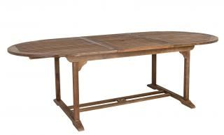 Alexander Rose Sherwood Oval Extending Table 110cm x 180/240cm