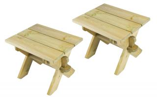 Alexander Rose Code 375. A handy set of two stools that will double as occasional tables too.