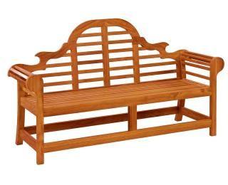 Alexander Rose Code 384B. A classic bench for the garden or patio.