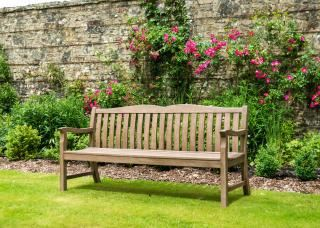 Alexander Rose Sherwood Cuckfield Bench 6ft