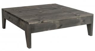 Alexander Rose Code 395. This grey pine table complements the Bay modular lounge range.
