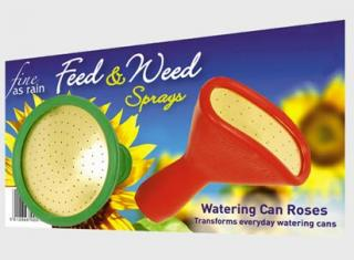 Haws Fine As Rain Weed & Feed Sprays. A specially priced set of rubber roses for weed control and feeding, to fit most watering cans.