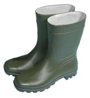 Classic Half Length Wellington Boots - Green