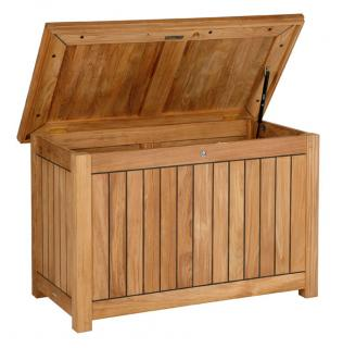 The Barlow Tyrie 110cm Storage Chest is ideal for storing cushions and garden clutter.