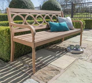 The Royal Crestbury Eucalyptus Hardwood 5ft Garden Bench would make the ideal birthday, retirement of anniversary gift.