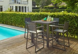 LIFE Outdoor Living 4 Seat Bar Set