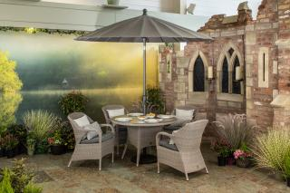 4 Seasons Outdoor Sussex 4 Seat Dining Set