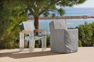 Barlow Tyrie Code 400214. The Titan Armchair Cover will protect your furniture over the winter months.