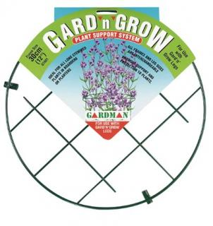 Gard'n'Grow is suitable for all long stemmed plans, allowing them to grow up through the frame.