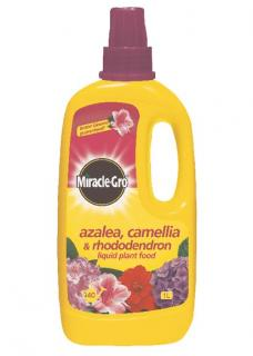 Scotts Miracle-Gro Azalea, Camelia & Rhododendron Liquid Plant Food. Stunning flowering displays for all acid-loving plants. Ensures plants flourish.