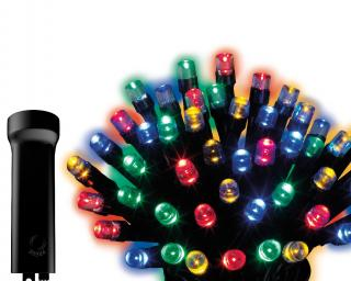96 Indoor or Outdoor Battery Operated Multi-colour LED Light Set