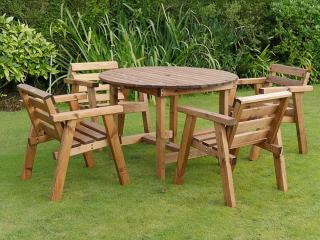 Redwood Rydal Four Seater Patio Set