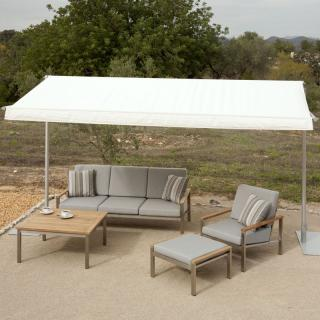 Barlow Tyrie Code 4SAS40.302. The Sail Sun Shade is ideal for creating your own shaded 'al fresco' dining area.