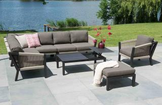 4 Seasons Outdoor Oslo Modular Corner Set