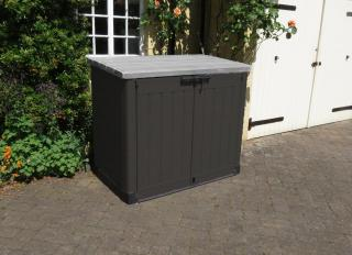This storage shed is one of the larger of the Norfolk Leisure storage solutions & can be used to store sizeable items.