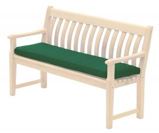 Alexander Rose Premier 4ft Bench Cushion in green
