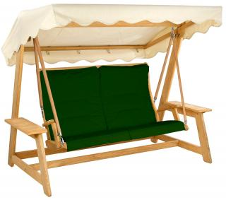 Alexander Rose Premier Swing Seat Cushion in green