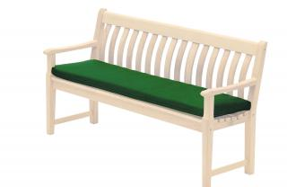Alexander Rose Green 5ft Bench Cushion