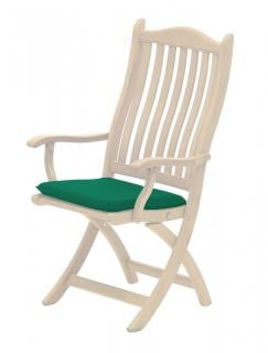 Alexander Rose Seat Pad in green