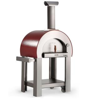 The Forno 5 Minuti Pizza Oven is ideal for larger families and is designed for terraces and gardens. Available in two colours.