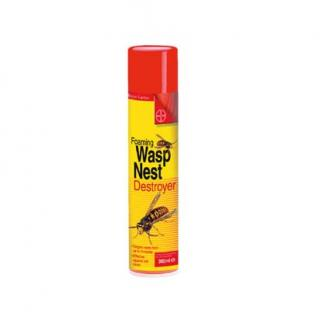 Bayer Wasp Nest Destroyer Foam300ml. Destroys wasps nests from a distance.
