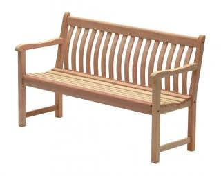 Alexander Rose Mahogany Broadfield 5ft Bench