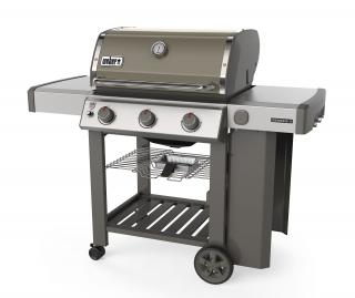 A 3 burner BBQ in Smoke Grey combining the new GS4 grilling system with the versatility of a Gourmet BBQ system grate.