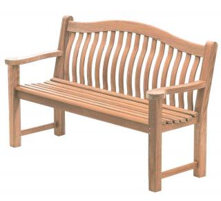 Alexander Rose Code 614. This bench has a curved back for extra comfort.