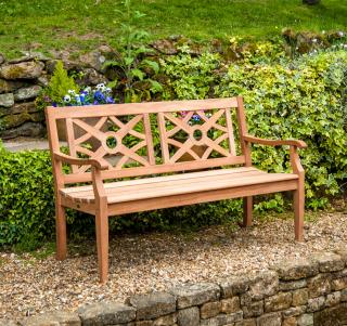 Alexander Rose Mahogany Heritage 5ft Bench