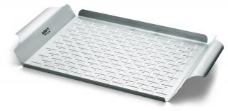 Weber Deluxe Stainless Steel Grilling Pan - Rectangular