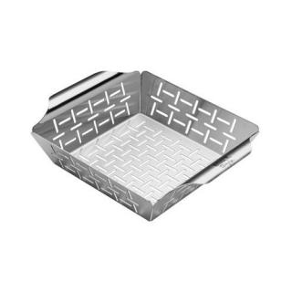 Weber Deluxe Stainless Steel Grilling Basket - Small