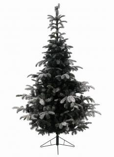 This 12ft Snowy Nordmann Christmas tree would look great in a large home or business.