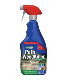 Bayer Path Weedkiller 1 Litre. Advanced formulation systemic andresidual action weedkiller. Stops new weeds germinating all season long.