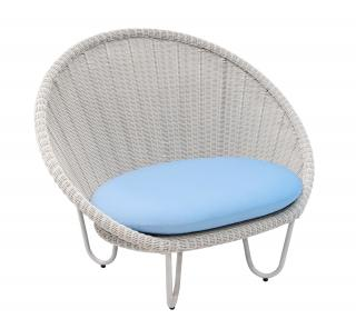 Alexander Rose Classic Oyster Round Chair