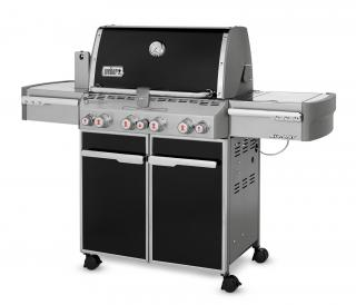 The ultimate four burner BBQ with features including Tuck Away Rotisserie, Integrated Sear Station & Gourmet BBQ System grates.