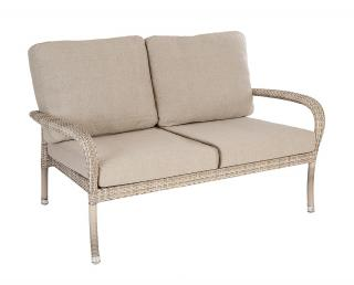 Alexander Rose Code 717PRL. A maintenance free garden sofa with matching cushions.