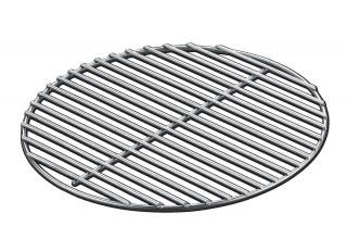 A heavy gauge charcoal grate for 57cm kettle barbecues & the performer.