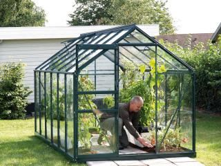 Vitavia Venus 7500 Greenhouse in Green