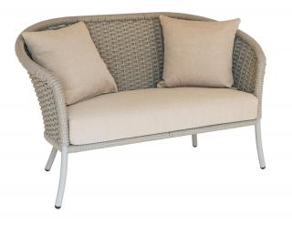 Alexander Rose Cordial Beige Curved Top Lounge Sofa